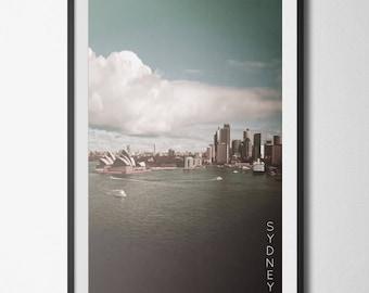 Sydney Poster 11x17 18x24 24x36