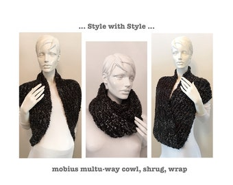 Mobius infinity scarf, wrap, shrug...