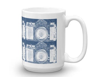 Vintage Camera Mug for Photographers Photo Enthusiasts made in the USA