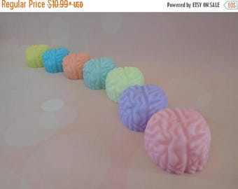 On Sale Brain Soaps - Zombie Soap - Brain Soap Favor - Halloween Favors - Gag Soap -  Med School Grad Gift - Anatomy Soap - Science Favors -
