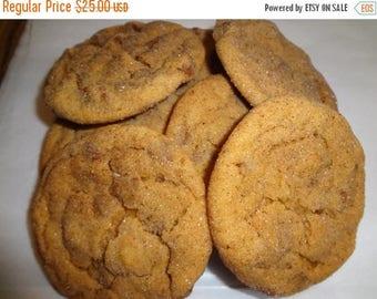 ON SALE: Homemade Pumpkin Snickerdoodles With Cinnamon Chips (3 Dozen)