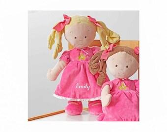 Personalized Dibsies Princess Tiara Doll - 14 Inch - Blonde