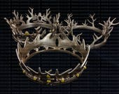 Game of Thrones crown set x3 Joffrey, Robert and Renly Baratheon/Lannister  1:1 scale Cosplay - 3D Printed - FREE DELIVERY