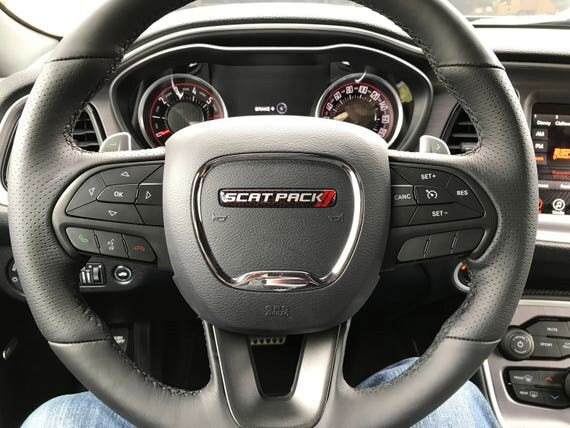 Scat Pack Challenger Charger Steering Wheel Badge
