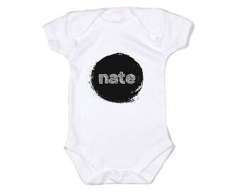 Personalised Baby Onesie, Baby Bodysuit, Romper, Baby Gift, Newborn Gift, Name Onesie