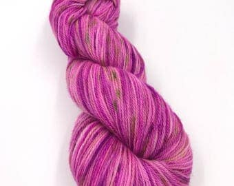 Hand Dyed Yarn - 4 ply (fingering) - Blossom