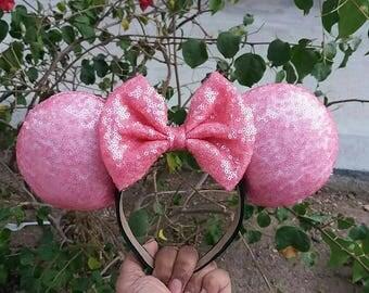 Bubble Gum Pink Ears