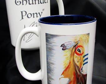 Beautiful Horse 15 oz Coffee mugs  -2 OPTIONS!!!
