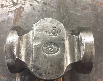 Blacksmith Rounding Hammer 4.5# (Hand Forged by ROYER)