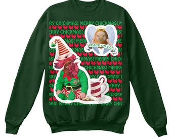 Ugly Chickmas Sweater