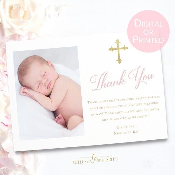 baptism thank you card wording