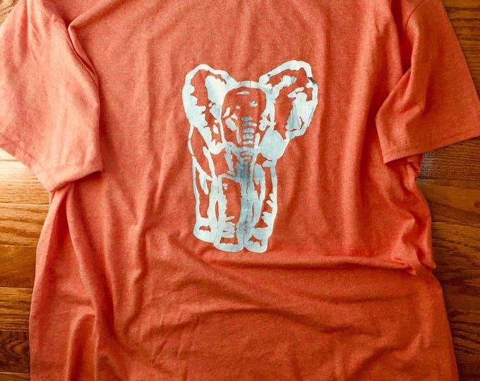 Orange Elephant T-Shirt