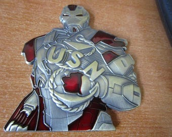 Ironman Marvel CPO Navy Chief Challenge Coin