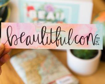 Beaulitfulcon 2018 Bookmark