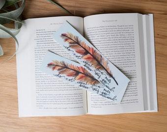 Dumbledore Feather Bookmark