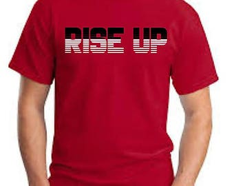 Atlanta Falcons Shirt~ Falcons Football Tee~ RISE UP Shirt~ Men's Game Day Shirt