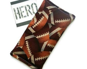 Rice bag, Microwave heat pad, Cooling pad, Football theme, Sports mom, Boo boo bags, Gift for him, Birthday gift ideas, Gift under 15