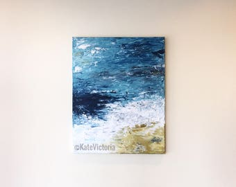 """Handmade abstract painting on Canvas 16*20"""""""