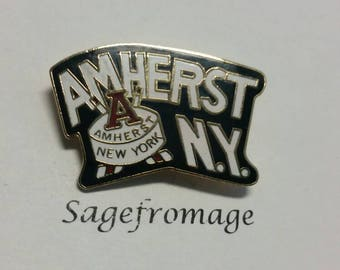 Amherst New York pin
