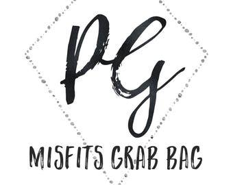 Misfits Grab Bag | 10 Sticker Sheets | Planner Stickers