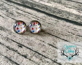 summer sweetness earring set hypoallergenic stainless steel.