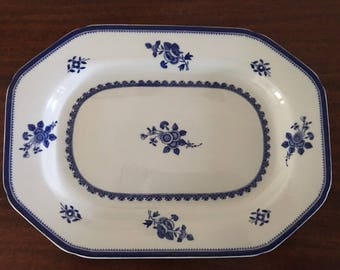 "12"" Spode serving platter, Gloucester pattern"