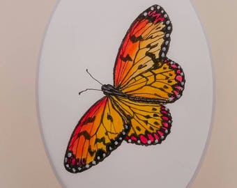 A watercolour of a Butterfly