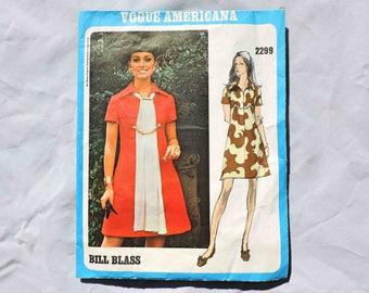 Vogue Americana 2299 Sewing Pattern by Bill Blass Size 12