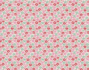 Tilda- Lemon Tree- Flower Field- Red