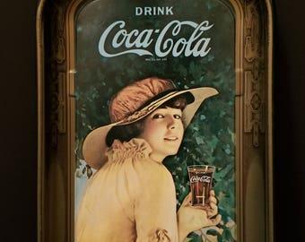 Vintage Coca Cola tray / Metal Tray / Advertising Tray