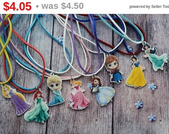 CHRISTMAS SALE Birthday gifts for girlfriend gift jewellery gift|for|her Necklace handmade Disney princess birthday Princess party Neckla...