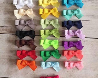 Baby Bows / Baby Hair Clips / No-Slip Baby Hair Clip / Baby Hair Bows / Toddler Hair Clip / Baby Barrettes / Newborn Bow/ Toddler Bow