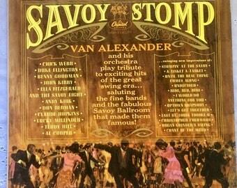 Van Alexander - Savoy Stomp LP Capitol T1712 Mono Swing #Jazz #Vinyl