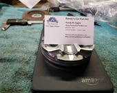 Half piston business card holder - Now made from used Nissan GTR pistons