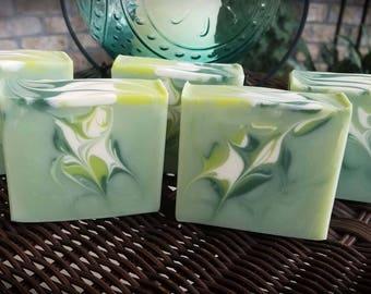 Tea Tree Soap, Cold Process Soap, Natural Soap, Olive Oil Soap, Bath and Beauty, Skin Care, Luxury Soap, Moisturizers, Artisan Soap