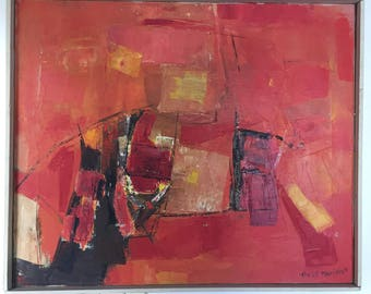 Original Abstract Painting by Anne Mariano