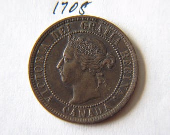 1899 Canada, Canadian Large Cent Coin , Canadian One Cent