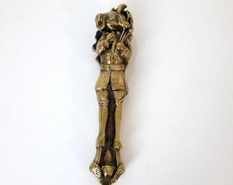 "vintage bronze nutcracker ""Trusty Servant, Winchester"""