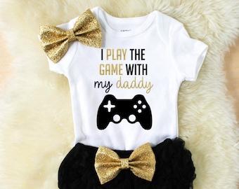 daddys girl clothes - baby girl clothes - baby shower gift - new baby gift - baby clothes - girl clothes - new baby clothes