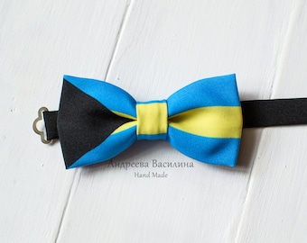 Bow ties flag Bahamas, carnival season