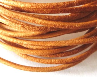 leather cord 2 mm natural PR0600 100 m