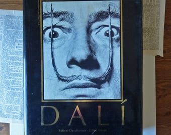 Salvador Dali BOOK - The Paintings - 1904-1946 - art book - Vintage book - french book