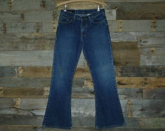 40% Off Vintage Flare-Bellbottom Jeans By Abercrombie & Fitch Size 14 100 Percent Cotton.Made in U.S.A. Free Us Standard Shipping