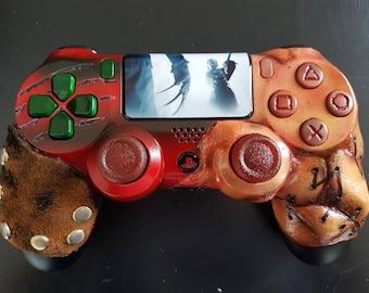 Custom Slasher - Freddy Krueger vs Leatherface Custom PS4 controller