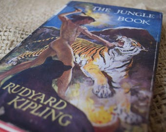 The Jungle Book. Rudyard Kipling. A Vintage Hardback Book. Macmillan. 1961
