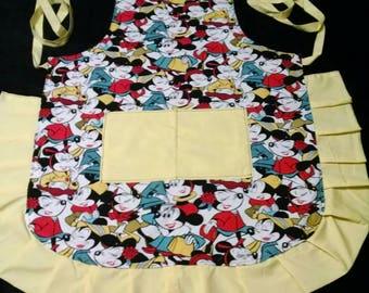 "Adult Size Apron ""Minnie Mouse"""