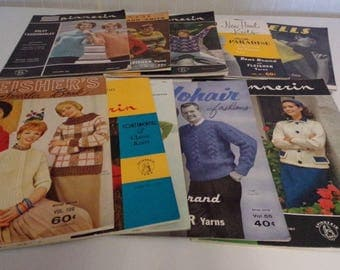 Pattern books for sweaters