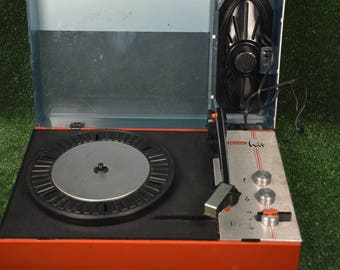 Vintage gramophone Unitra Fonica - Poland record player - Vinyl record player - Working turntable phonograph - Old gramophone