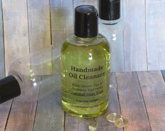 All Natural Face Cleanser, Oil Cleanser, Handmade Face Cleanser, Natural Oil Treatment, Face Care Oil Cleanser, Natural Oil Cleanser