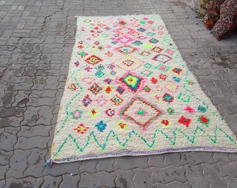 Beautiful new azialal Berber rug,
